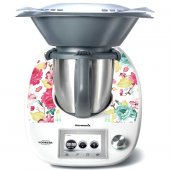 Thermomix TM5 Decal Stickers - Flower