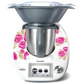 Thermomix TM5 Decal Stickers - Rose