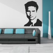 Tom Cruise Wall Stickers