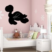 Tortoise - Chalkboard / Blackboard Wall Stickers