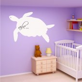 Tortoise - Whiteboard Wall Stickers