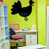 Turkey - Chalkboard / Blackboard Wall Stickers