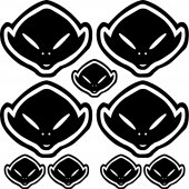 ufo Decal Stickers kit