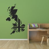 United Kingdom Wall Stickers