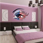 Usa Eye Wall Stickers