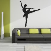 Vinilo decorativo bailarina