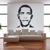 Vinilo decorativo Barack Obama