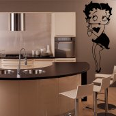 Vinilo decorativo Betty Boop