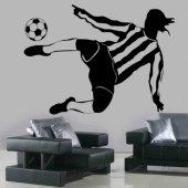 Vinilo decorativo futbolista