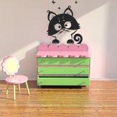 Vinilo decorativo gato