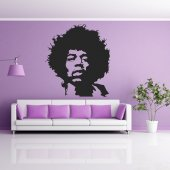 Vinilo decorativo jimmy hendrix