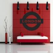 Vinilo decorativo london