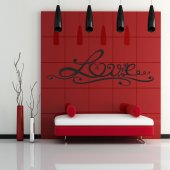 Vinilo decorativo love