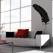 Vinilo decorativo pluma