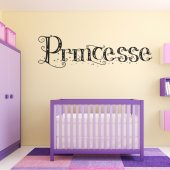 Vinilo decorativo princesse