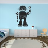 Vinilo decorativo robot