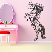 Vinilo decorativo unicornio