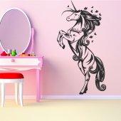 Vinilo decorativo unicornio