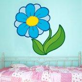 Vinilo infantil floral
