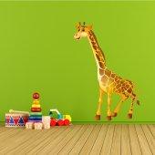 Vinilo infantil jirafa