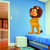 Vinilo infantil leon