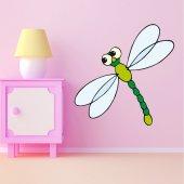 Vinilo infantil libélula