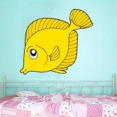 Vinilo infantil pescado