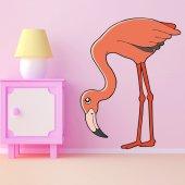 Vinilo infantil Pink Flamingo