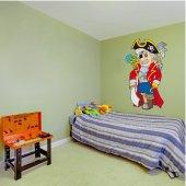 Vinilo infantil pirata
