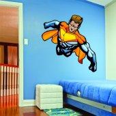 Vinilo infantil superhéroe