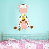 Vinilo infantil vaca