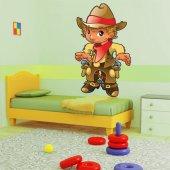Vinilo infantil vaquero