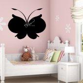 Vinilo Pizarra mariposa
