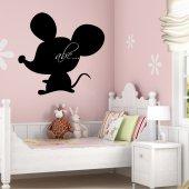Vinilo Pizarra ratón