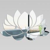 Wandspiegel aus Acrylglas Wasserlilie