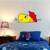 Wandsticker Fisch