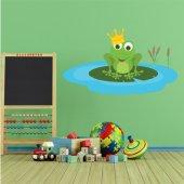 Wandsticker Frosch