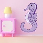 Wandsticker Seepferdchen