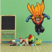 Wandsticker Superheld