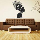 Wandtattoo afrikanisch