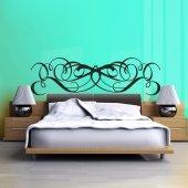 Wandtattoo Bettkopfteil
