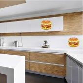 Wandtattoo Burger