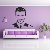 Wandtattoo David Beckham