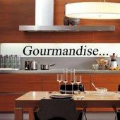 Wandtattoo Gourmandise