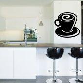 Wandtattoo Kaffeetasse