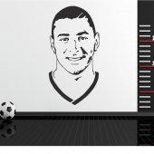 Wandtattoo Karim Benzema