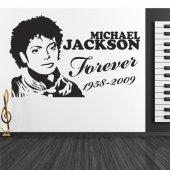 Wandtattoo Michael Jackson