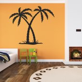 Wandtattoo Palm