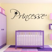 Wandtattoo Prinzessin