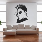 Wandtattoo Rihanna
